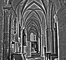 St Mary L'Eglise, Normandie by Sama-creations