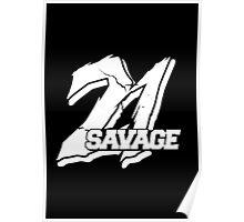 21 Savage B Poster