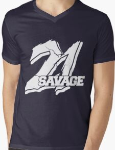 21 Savage B Mens V-Neck T-Shirt