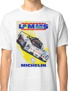 """""""LE MANS"""" Vintage Grand Prix Auto Racing Print Classic T-Shirt"""