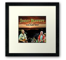 SAN03 Jimmy Buffett and the Coral Reefer Band TOUR 2016 Framed Print