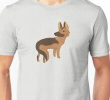 german shepherd dog | herding guardian show dog purebred loyal best friend Unisex T-Shirt