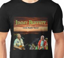 SAN03 Jimmy Buffett and the Coral Reefer Band TOUR 2016 Unisex T-Shirt