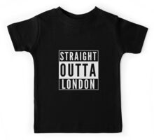 Straight Outta London Kids Tee