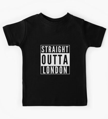 Straight Outta London Kids Tee