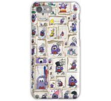 Bert Collage iPhone Case/Skin
