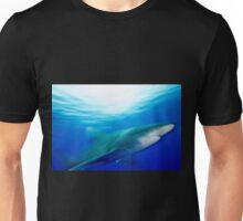 Oceanic White Tip Shark in Motion Unisex T-Shirt
