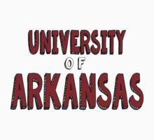 University of Arkansas Kids Tee
