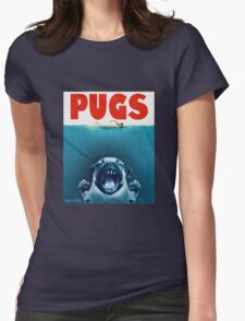 PUGS Womens Fitted T-Shirt