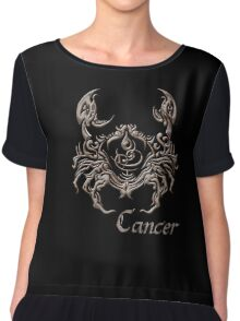 Astrology Cancer T-Shirt Chiffon Top
