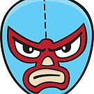 Luchador Mask 1 by DetourShirts
