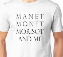 impressionists & me Unisex T-Shirt