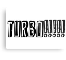 JDM TURBO!!!!! Metal Print
