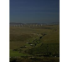 Wind Farms on Inishowen Peninsula Photographic Print