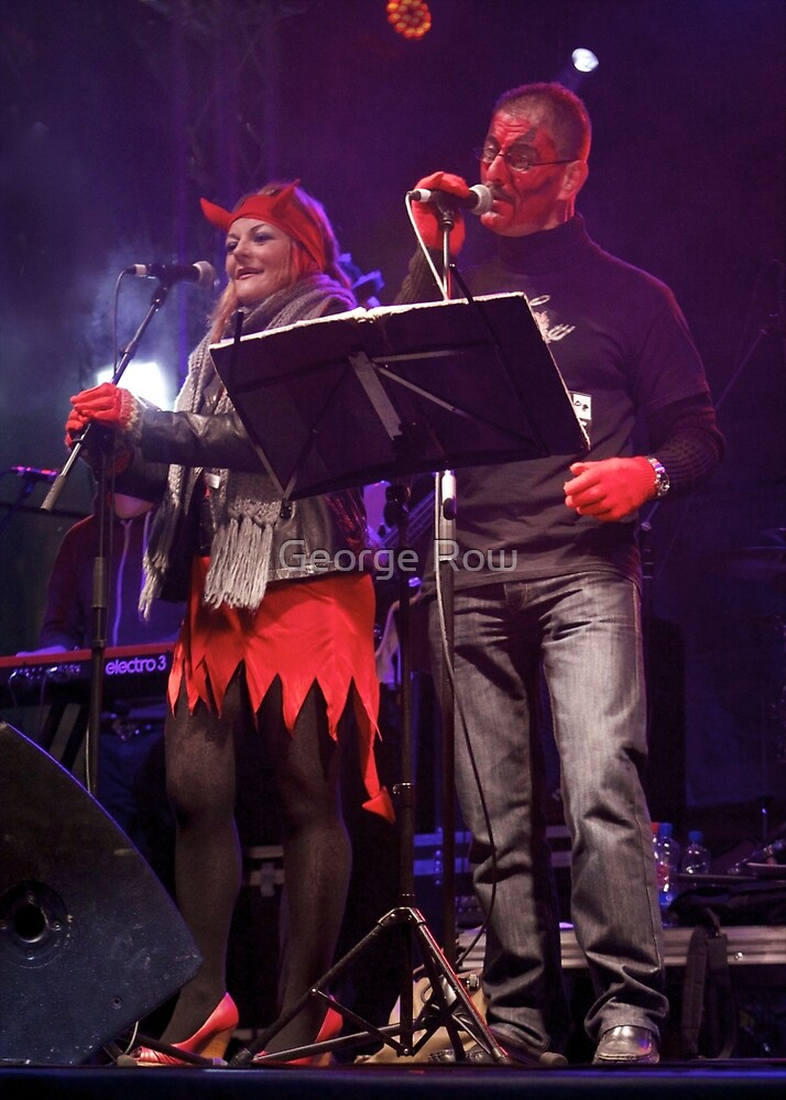 Live Music  - Haloween 2012, Derry  by George Row