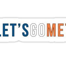 Let's Go Mets  Sticker