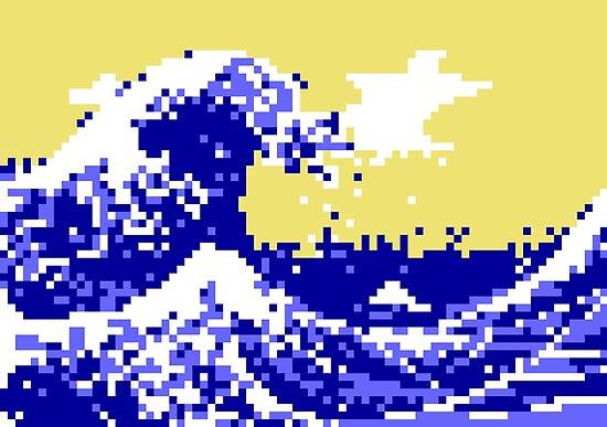 Pixel Tsunami by tinybiscuits