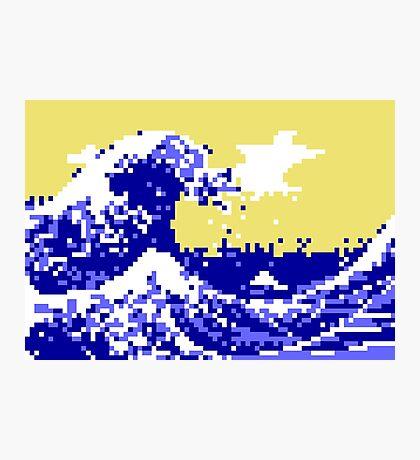 Pixel Tsunami Photographic Print