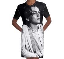 leonardo dicaprio Graphic T-Shirt Dress