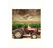On Farm  Art Print