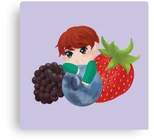 Seventeen - Boo Berry Canvas Print