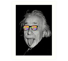color make me happy make me smart Art Print