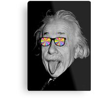 color make me happy make me smart Metal Print