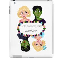 Changed for Good iPad Case/Skin