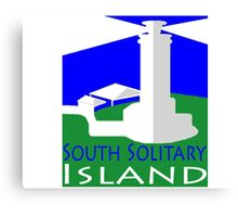 South Solitary Island Canvas Print