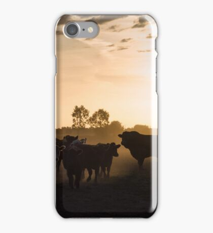 Cow Dust iPhone Case/Skin