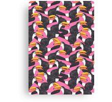 Toucan [pink] Canvas Print