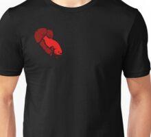 Red Betta Lines Unisex T-Shirt