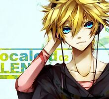 Len Kagamine Pillows & Phone Cases by Dyl-Designs