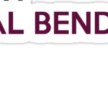 SOME TELEPATHS MARRY METAL BENDERS Sticker