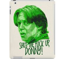 The Big Lebowski DUDE Donny Green iPad Case/Skin