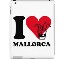 I love Mallorca iPad Case/Skin