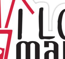 I love Mallorca Sticker