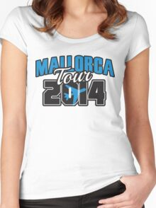 Mallorca Tour 2014 Women's Fitted Scoop T-Shirt