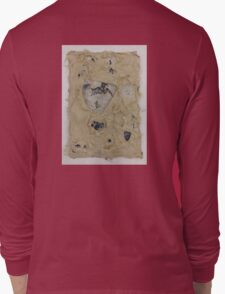 Torn layers of paper Long Sleeve T-Shirt