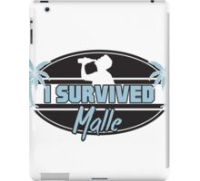 I survived Malle iPad Case/Skin