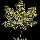 THE TRAGICALLY HIP - SUMMER TOUR 2016 - TYPOGRAPHY by rawarontek2