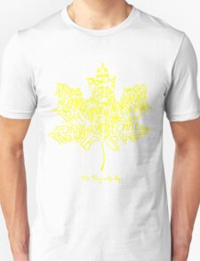 THE TRAGICALLY HIP - SUMMER TOUR 2016 - TYPOGRAPHY Unisex T-Shirt