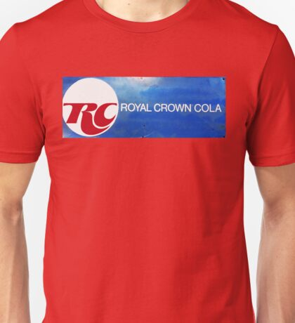 RC COLA ROYAL CROWN COLA VINTAGE SIGN Unisex T-Shirt