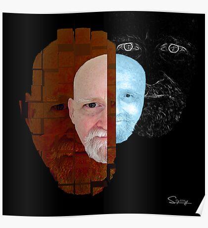 ENIGMA  a self portrait Poster