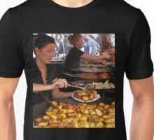 "fast food at the ""meat market""- Krakow, Poland Unisex T-Shirt"