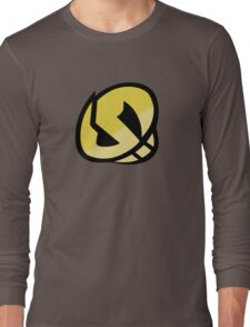 Team Skull Gold Logo - Pokemon Sun & Moon Long Sleeve T-Shirt
