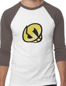 Team Skull Gold Logo - Pokemon Sun & Moon Men's Baseball ¾ T-Shirt