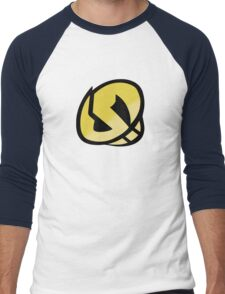 Team Skull Gold Logo - Pokemon Sun & Moon Men's Baseball ¾ T-Shirt