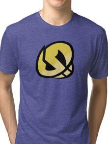 Team Skull Gold Logo - Pokemon Sun & Moon Tri-blend T-Shirt