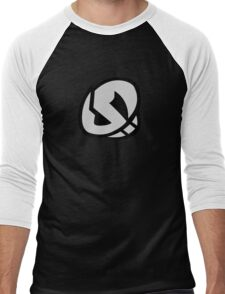 Team Skull Logo- Pokemon Sun & Moon Men's Baseball ¾ T-Shirt